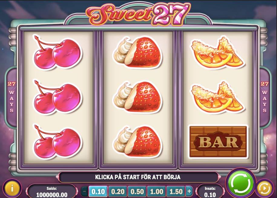 Slotsspel på online casino